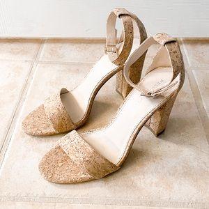 Pelle Moda Bonnie Cork Sandals, NEW, Size 7